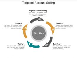 Targeted Account Selling Ppt Powerpoint Presentation Icon Slide Portrait Cpb