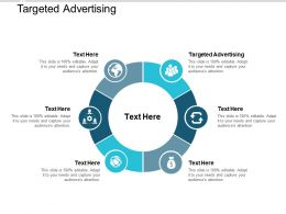 Targeted Advertising Ppt Powerpoint Presentation Ideas Gallery Cpb