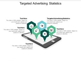 Targeted Advertising Statistics Ppt Powerpoint Presentation Model Cpb