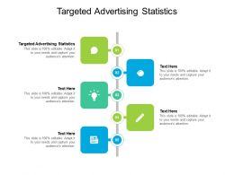 Targeted Advertising Statistics Ppt Powerpoint Presentation Slides Clipart Images Cpb