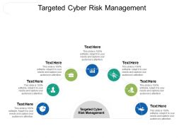 Targeted Cyber Risk Management Ppt Powerpoint Presentation Layouts Show Cpb