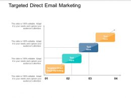 Targeted Direct Email Marketing Ppt Powerpoint Presentation Model Display Cpb