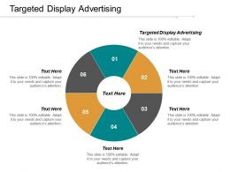 Targeted Display Advertising Ppt Powerpoint Presentation Gallery Outfit Cpb