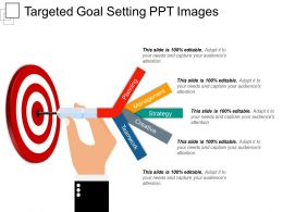 Targeted Goal Setting Ppt Images