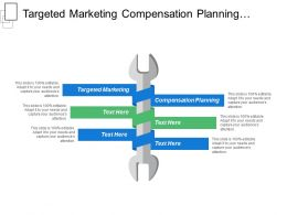 Targeted Marketing Compensation Planning E Commerce Strategy Business Appraisal