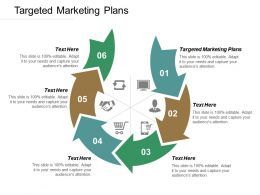 Targeted Marketing Plans Ppt Powerpoint Presentation Icon Portfolio Cpb
