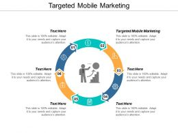 Targeted Mobile Marketing Ppt Powerpoint Presentation Model Template Cpb
