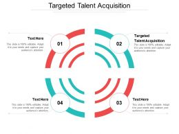 Targeted Talent Acquisition Ppt Powerpoint Presentation Gallery Tips Cpb