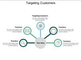 Targeting Customers Ppt Powerpoint Presentation Styles Objects Cpb