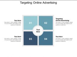 Targeting Online Advertising Ppt Powerpoint Presentation Slides Portrait Cpb