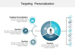 Targeting Personalization Ppt Powerpoint Presentation Gallery Images Cpb