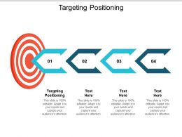 Targeting Positioning Ppt Powerpoint Presentation Slides Example Cpb