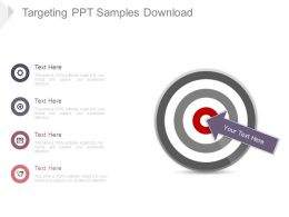 Targeting Ppt Samples Download