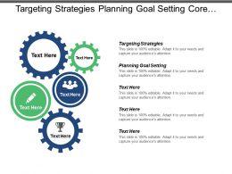 Targeting Strategies Planning Goal Setting Core Values Teamwork Cpb
