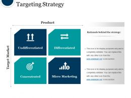 Targeting Strategy Powerpoint Slide Design Templates