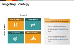 Targeting Strategy PPT Example File