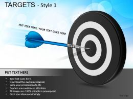 Targets 1 Powerpoint Presentation Slides DB