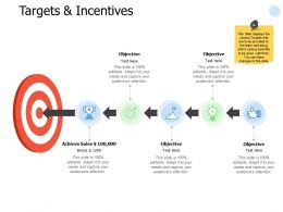 Targets And Incentives Achieve I253 Ppt Powerpoint Presentation Show