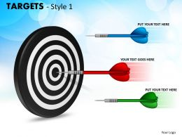 Targets Style 1 PPT 10