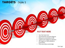 Targets Style 1 PPT 11