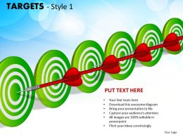 Targets Style 1 PPT 12