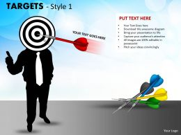 Targets Style 1 PPT 14