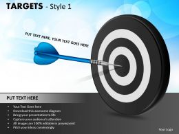 Targets Style 1 PPT 2