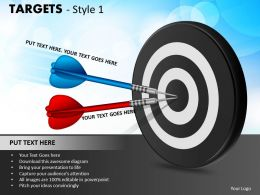 Targets Style 1 PPT 3