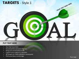 Targets Style 1 PPT 4