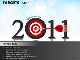 Targets Style 1 PPT 5