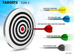 Targets Style 1 PPT 6