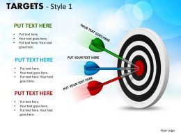 Targets Style 1 PPT 7