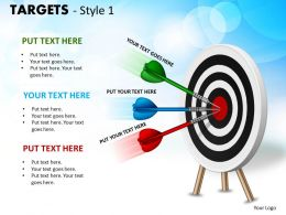 Targets Style 1 PPT 8