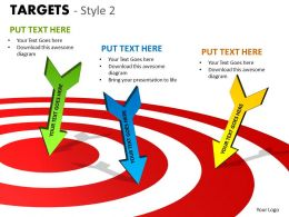 Targets Style 2 PPT 12