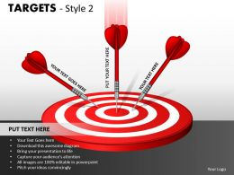 Targets Style 2 PPT 2