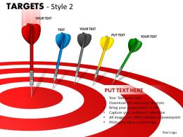Targets Style 2 PPT 4