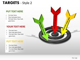 Targets Style 2 PPT 9