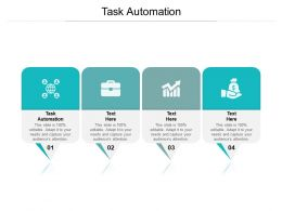 Task Automation Ppt Powerpoint Presentation Summary Background Cpb
