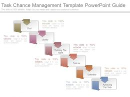 Task Chance Management Template Powerpoint Guide