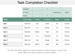 task_completion_checklist_ppt_slides_download_Slide01