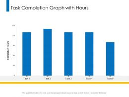 Task Completion Graph With Hours