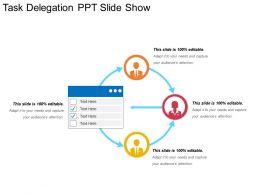 Task Delegation Ppt Slide Show