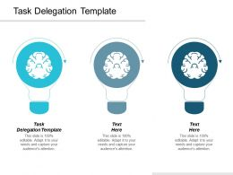 Task Delegation Template Ppt Powerpoint Presentation Infographic Template Infographics Cpb