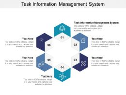 Task Information Management System Ppt Powerpoint Presentation Introduction Cpb