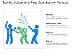 Task List Assignments Fixes Quantitatively Managed Improvement Optimization