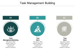 Task Management Building Ppt Powerpoint Presentation Layouts Smartart Cpb