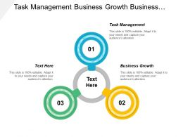 Task Management Business Growth Business Administration Business Communication
