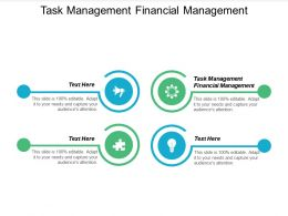 Task Management Financial Management Ppt Powerpoint Presentation Gallery Templates Cpb