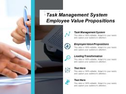 Task Management System Employee Value Propositions Leading Transformation Cpb