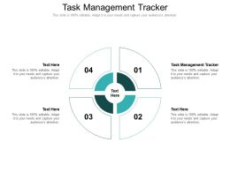 Task Management Tracker Ppt Powerpoint Presentation Infographic Template Template Cpb